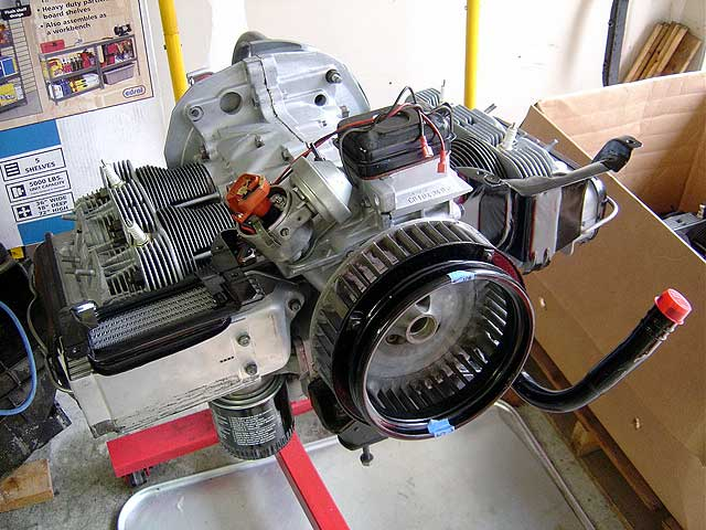 engine without tin