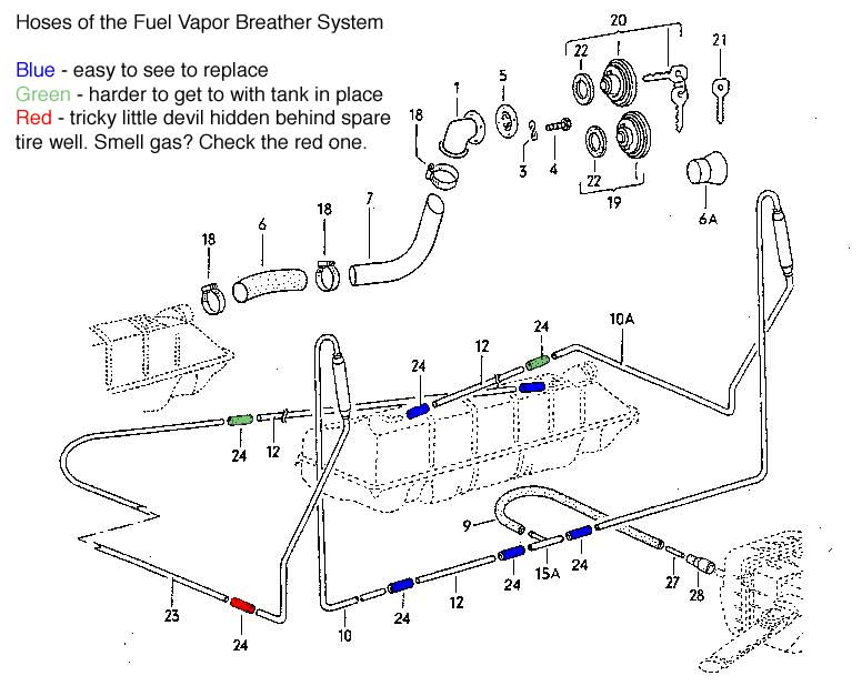 volkswagen vanagon alternator wiring diagram