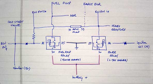 DoubleRelay 1 double relay demystified bosch relay wiring diagram fuel pump at gsmx.co
