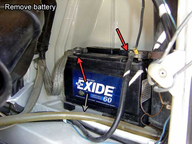 bus engine removal in easy steps battery