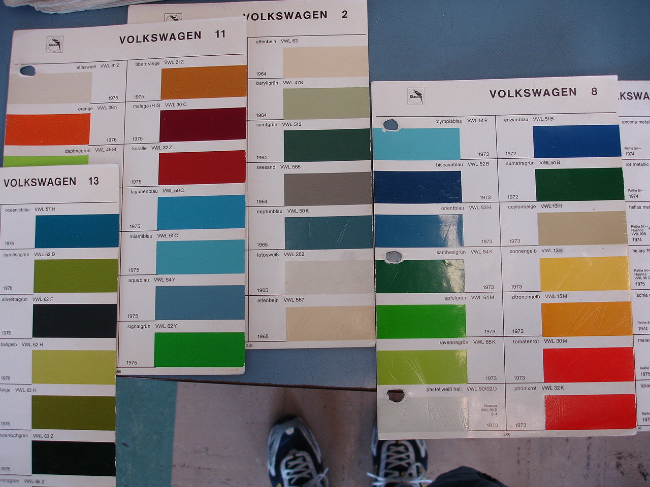 Pin glasurit paint chips on pinterest for Paint color chips