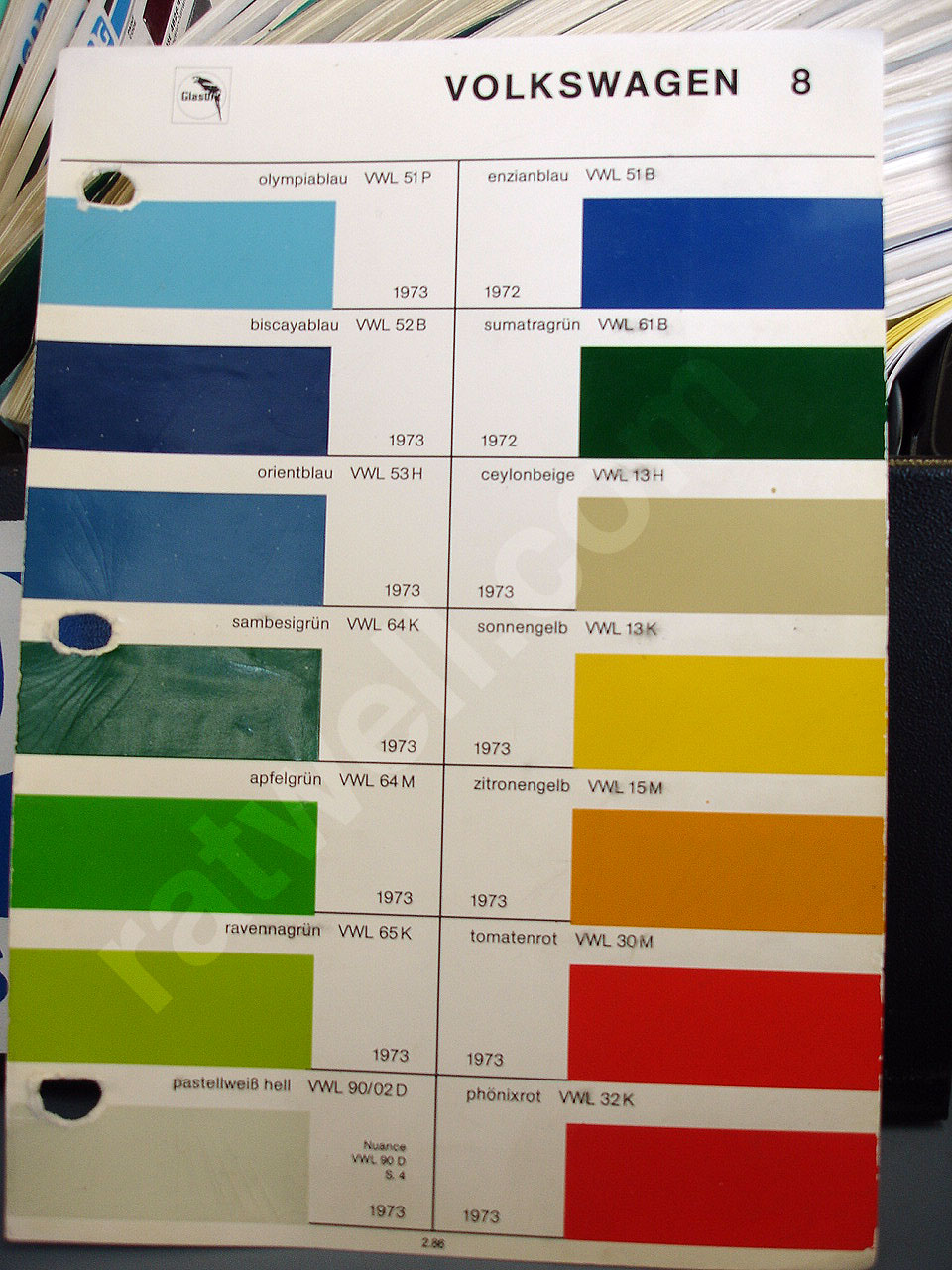 Glasurit paint chips glasurit vw pg8 nvjuhfo Images