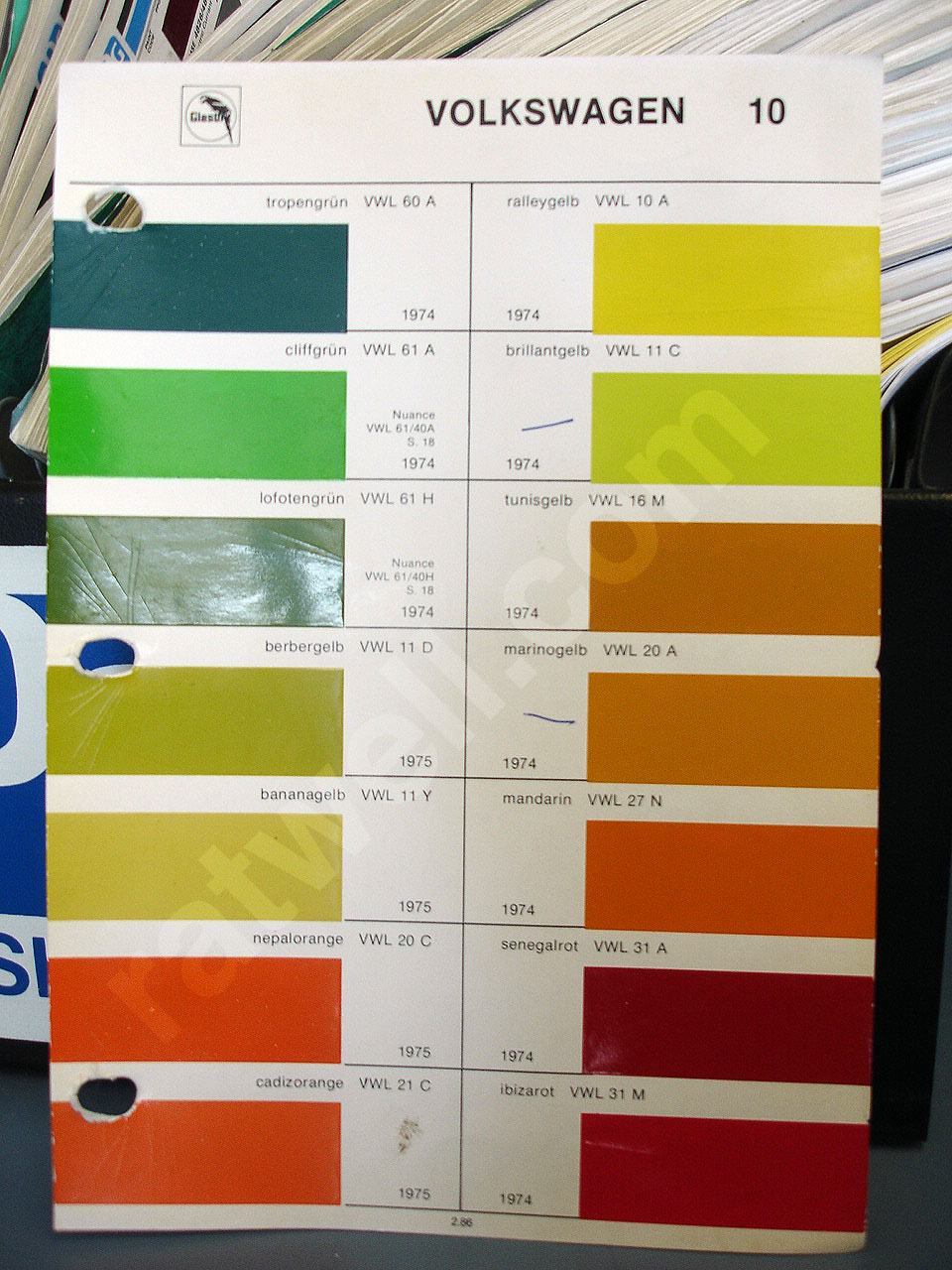 Glasurit paint chips glasurit vw pg10 nvjuhfo Images