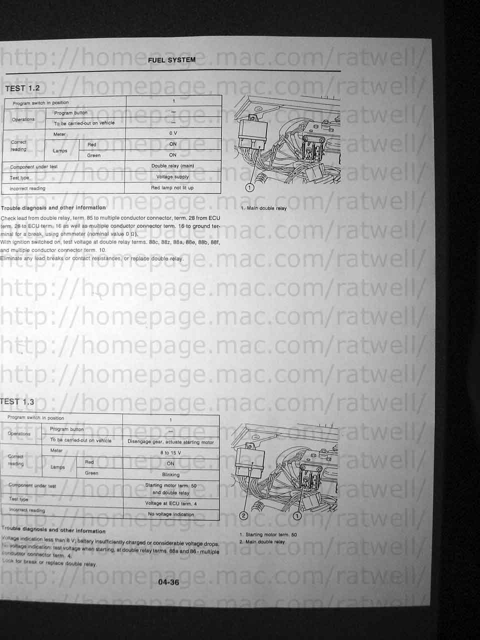 Bosch L Jetronic Tester Tc Wiring Harness Manual1 Manual2