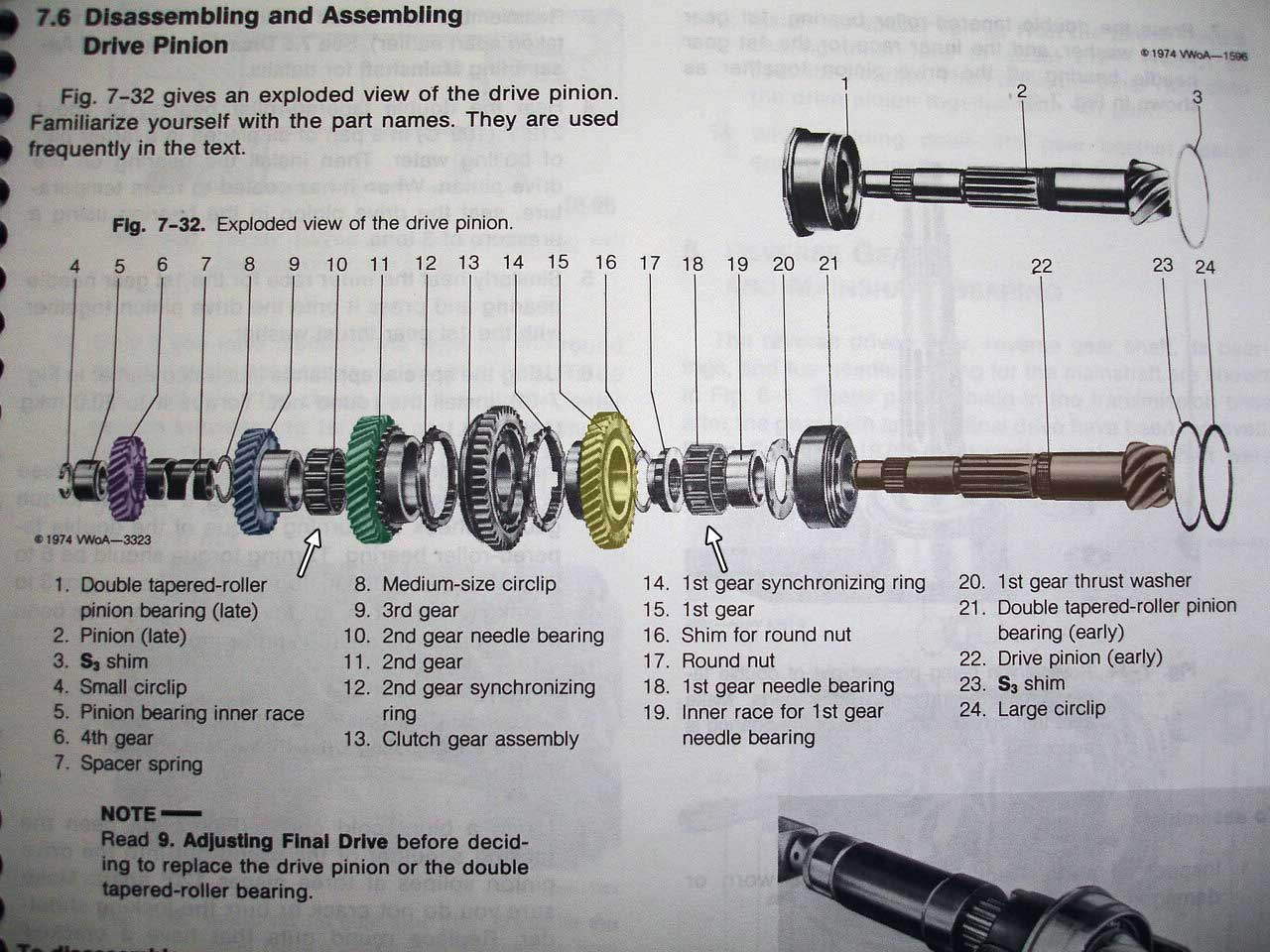 Transaxle on 71 vw beetle transmission