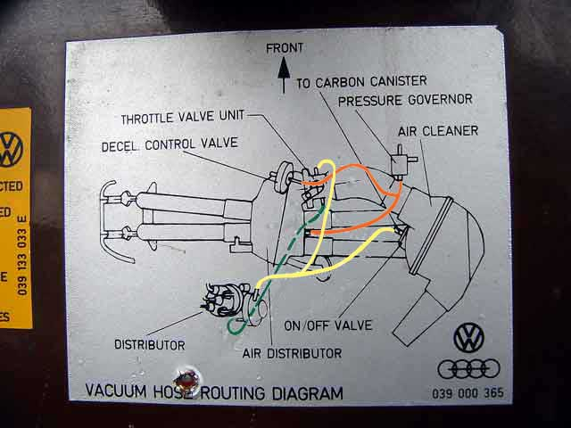 fuel injection vacuum hoses greg potts has provided these schematics of the vacuum hose system for early and late models